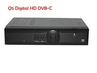 Shenzhen digital  Q5 DVB-C HD cable conax receiver with MPEG-4/H.264 HD 1080I  free shipping set top box