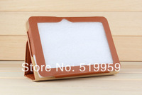 "Free shipping  2014 the latest fashion  7 inch 7""  Original Leather Case for Ainol novo 7 Fire flame  Tablet PC"
