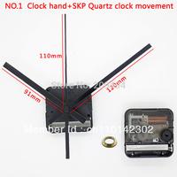 Clock Accessory Silent Movement Plastic SKP Movement With Clock Hand Quartz Clock Movement Free Shipping