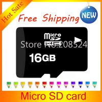 Hot sale 16GB Micro TF Memory Card 8GB 16GB 32GB CLASS10 Micro TF Card with free adapter and free TF card reader free shipping