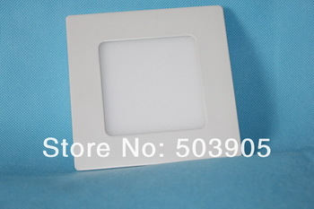high brightness and energy saving 6w  led panel light led panel light price