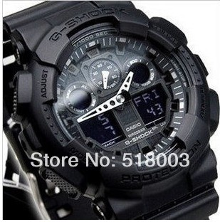 2013 NEW g-sh watches motorcycle race+military automatic watch+AW-590 men watches business +wholesale GA-100 watches(China (Mainland))