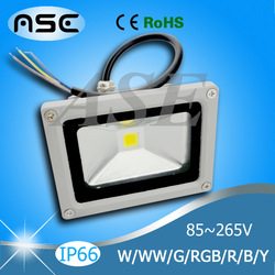 High Power Waterproof 10w/20w/30W LED Flood Light Warm/Cool White/RGB/R/G/B/Y Outdoor Lamp Retail & Wholesale 1pcs/lot(China (Mainland))