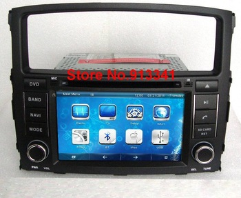 8'' Car DVD for Mitsubishi Pajero Andriod 2.3 + Wifi ( Optional ) Built-in GPS / iPod music / Bluetooth / Steering Wheel Control
