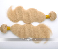 top quality queen brazilian virgin hair body wave 4pcs lot 613 blonde wavy hair extensions 100% human hair weave free shipping