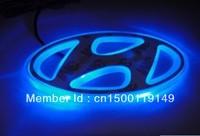option one,car logo light for HYUNDAI 2SONATA/ELANTRA,car badge lamp,auto led light,auto emblem led lamp/9.7x4.8