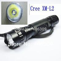 Brand New!! 501b XM-L2  UltraFire WF-501B  Cree XM-L2 1770 Lumens 5-mode  LED Flashlight Torch+Free shipping