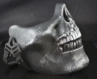 1PCS/LotFree shipping silver glod masquerade mask mask motorcycle skull face mask for mens
