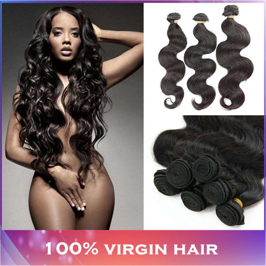 brazilian virgin hair body wave 3 or 4 pcs lot 100% human hair weaves rosa hair products brazilian body wave free shipping(China (Mainland))