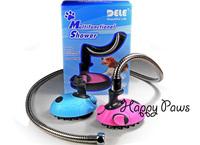 2013's latest Multifunction Pet Shower Pet bath sprayer Hold shampoo With massage pin Fun bath for pets Pet supply Free Shipping