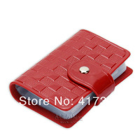 7 colors 26 slots brand high quality card wallets & holders genuine leather card & id holders for credit card business cards