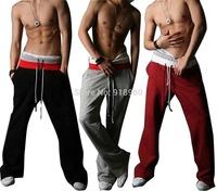 Men Casual Sport Sweat Pants Training Dance Baggy Jogging Trousers Slacks/3 colors/MtS