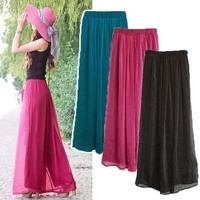 1176 wide leg pants chiffon ubiquitous1 skorts culottes casual pants