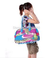 Free shipping 2013 brand designer canvas sports bag  gym bag carry on luggagge,travel handbags duffle bags brand items GB21
