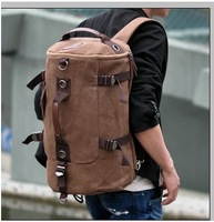 The new 2014 han edition men's bags knight exempt postage package retro canvas canvas men's bags