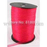 Organza Ribbon,  Red,  6mm wide,  500yd/roll