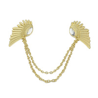 2014 Hot Selling Vintage Wing Design Alloy False Collar Necklace For Women Fashion Jewelry