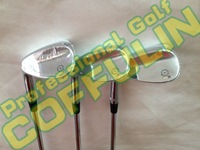 New Silver SM5 Golf Wedges With Ture Temper Steel Shafts Golf Clubs 52/56/60degree 3PCS