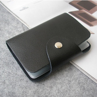 wholesale Fashion cowhide genuine leather hasp card holder ID card business card holder bag A240