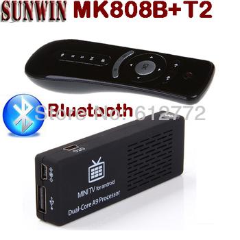 Original MK808B Android Mini PC 1GB RAM 8GB ROM Bluetooth MK808 Andriod TV Box HDMI WIFI OTG Google TV Stick + Free T2 Air Mouse