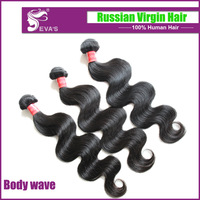 Virgin Russian hair body wave with Closure ,3pcs/4pcs lot Mix inches best selling product,Virgin human hair wavy SHIPPING FREE