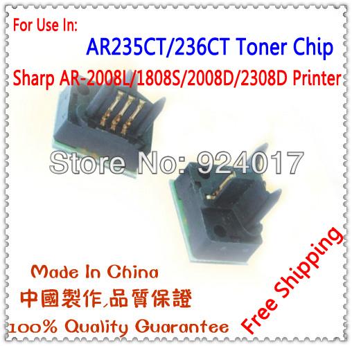 MX-236CT/MX-235CT Toner Chip For Sharp Laser Printer,For Sharp AR-1808S/2008D MX-M2028D/M2308D Cartridge Chip.Free Shipping(China (Mainland))