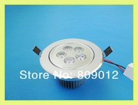 LED recessed ceiling light 5W LED downlight  LED ceiling spot light lamp 85-265V 410lm two years warranty free shipping
