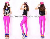 2014 Multi Colour Solid Neon Candy  Elastic Sport  Ankle Length Leggings 28 Colours 4 Sizes