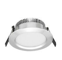 Free shiping 12W  LED downlight,SMD5730,AC85~265V,Flash silver,Ceiling type 4""