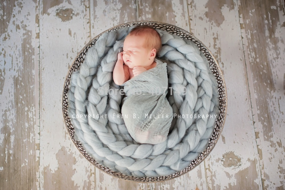 MODEL# DJ-13204,wool fiber blanket,basket filler,stuffer,newborn photography props,baby shower gift(China (Mainland))