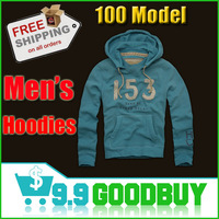 Free shipping Hot sale Men's Hooded Sweatshirts Outwear Hoodies Long Sleeve Full Zip Cardigans For Men's jacket
