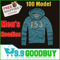 Free shipping Hot sale Men's Hooded Sweatshirts Outwear Hoodies Long Sleeve Full Zip Cardigans For Men's jacket