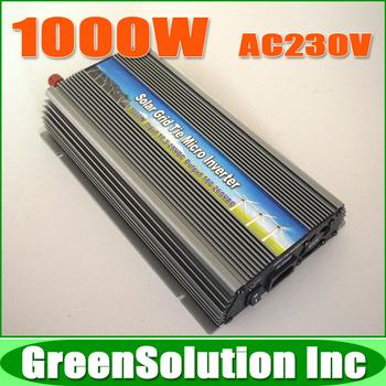Quality 1KW 1000W MPPT Grid Tie Micro Solar Inverter Pure Sine Wave for 1200W 18V Solar Panels, DC10.5V~28V to AC180V~260V