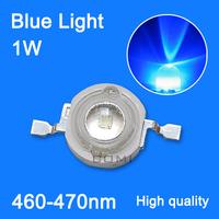 wholesale LED emitting diode Blue light led diodes 1w 20-30lm led blue beads lamp 465-470nm plant growth light ,fishing light