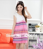 Free Shipping, 2014 New Hot Sale Fashion Pregnant Maternity Women Dresses, Casual Pregnant Clothes, Big Promotion Clothes 31023