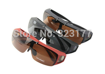 OTG1045 Men women Fit Over Prescription Glasses Cat 3 Polarized Sunglasses Flip Up Polaroid fishing gafas oculos de sol lentes