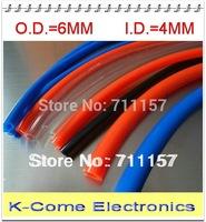 Pneumatic Hose PU Tube OD 6MM ID 4MM Plastic Flexible Pipe PU6*4 Polyurethane Tubing