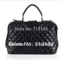 Free shipping 2014 hot sale designer Cc lavish Faux Leather  totes messenger handbags for women bolsas