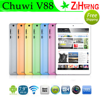 Chuwi V88 Tablet PC 7.2mm RK3188 Android 4.1 Quad Core 2G RAM 16GB ROM Dual Camera 7.9 inch Wifi HDMI Bluetooth IPS