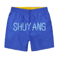 Solid Color cotton static beach pants, Men's shorts fashion Breathable quick-drying Leisure Fitness surf shorts Size XXL