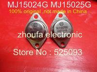Free shipping MJ15025G MJ15025 MJ15024G MJ15024    original   5Pairs/LOT IN STOCK