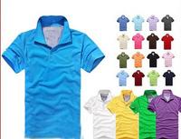 new 2014 men  T-shirt, men's cotton short sleeve T-shirt, 21 color, 4 sizes/free shipping