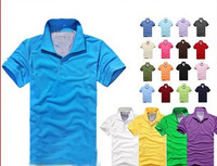 new 2014 men  T-shirt, men's cotton short sleeve T-shirt, 21 color, 4 sizes/free shipping