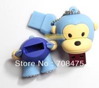 Monkey shape USB Memory Flash Drive 1GB 2GB 4GB 8GB 16GB 32GB