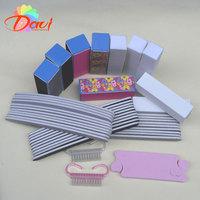 42pcs uv gel nails kit Buffer Block Sanding file professional pedicure nail manicure set Nail files for nail care FREE SHIPPING
