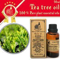 Free shopping Skin Care 100%pure plant essential oil tea tree oil  30ml Bactericidal, anti-inflammatory