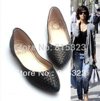 Free Shipping New 2015 fashion point toe women's flat heel shoes, shoes for women, flat shoes, women vintage flat shoes