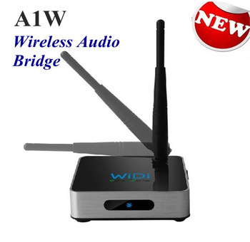 Measy A1W Mircast Player Wireless Audio Bridge Support Mircast  DLNA  Widi Audio Wireless Signal Transceiver  Wireless Router