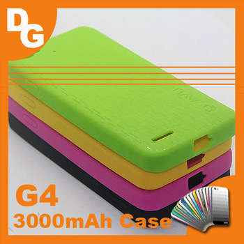 Hot Sale JIAYU G4 3000mAh Version Original Case High-quality Silicon Cover For JIAYU G4  MTK6589 Andriod Smartphone