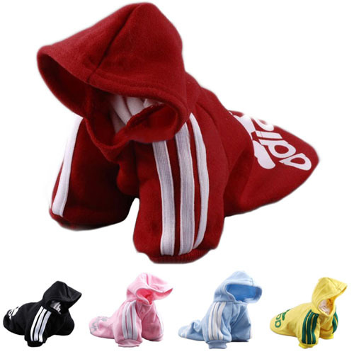 Pet Puppy Dog Cat Coat Clothes Hoodie Sweater T-Shirt Costumes Size P47(China (Mainland))